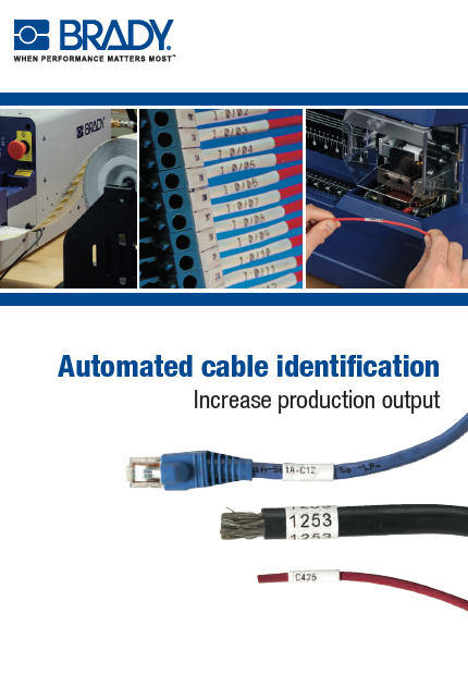 Automated cable identification solutions