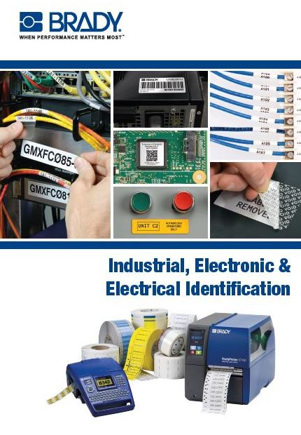 Industrial electronic and electrical identifcation solutions