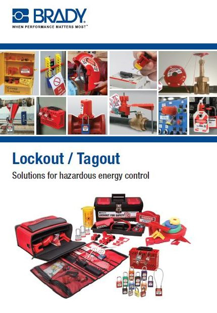 Lockout tagout labelling solution