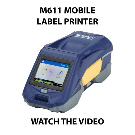 M611 mobile label printer
