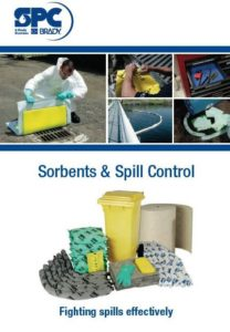 Sorbents and spill control identification solutions