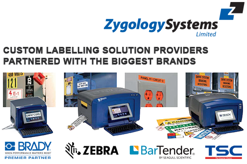 Zygology Systems are labelling solution providers and partners