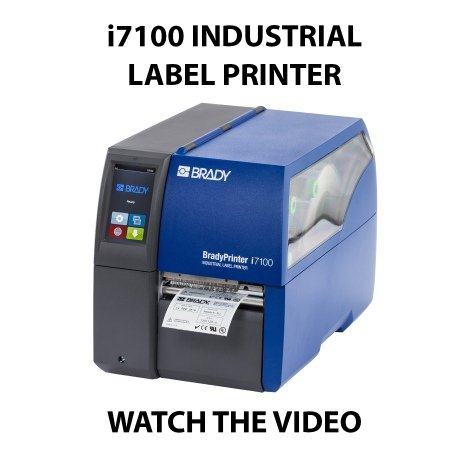 i7100 industrial label printer