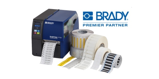 Brady Labelling Solutions Printer and Labels